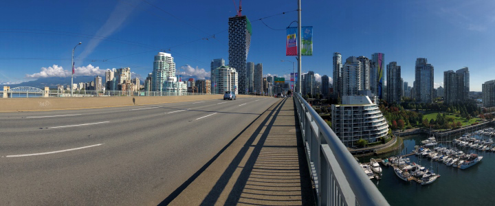 Granville Bridge protected view