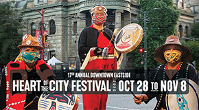 Heart of the City Festival in the Downtown Eastside