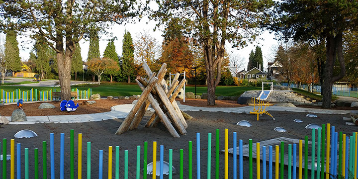 Hillcrest and Riley Park playground