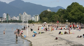 Kitsilano Beach City Of Vancouver