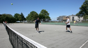 Kitsilano Beach Park tennis courts