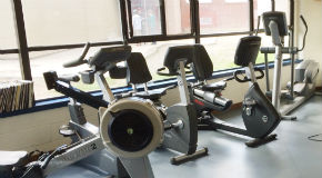 Cardio machines at Lord Byng Fitness Centre in Vancouver
