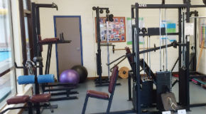 Weight and strength machines at Lord Byng Fitness Centre in Vancouver