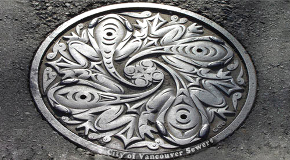 Manholes give City maintenance workers access to the sewer and water systems.