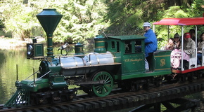 Miniature train in stanley park