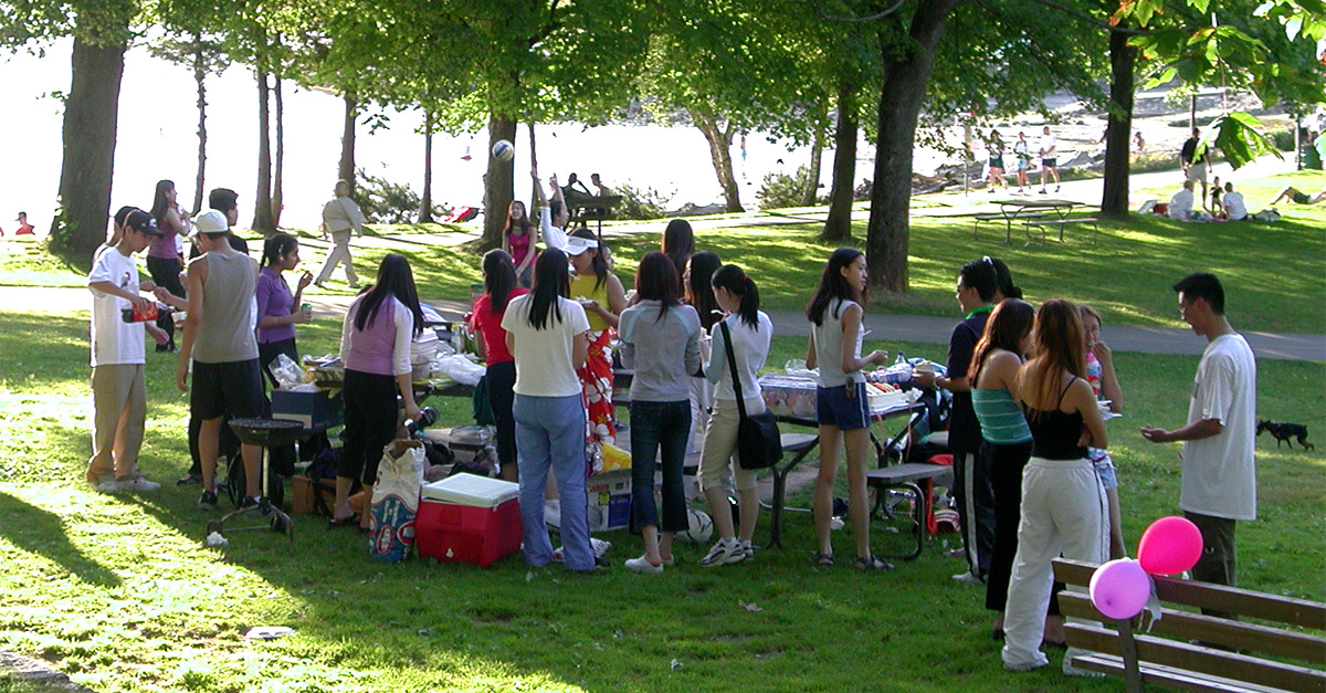 Picnics In Vancouvers Parks