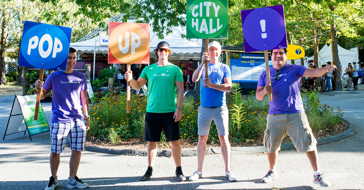 Pop-Up City Hall | City of Vancouver