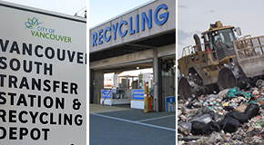 City of Vancouver's recycling depots