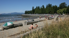 Second Beach in Stanley Park in Vancouver
