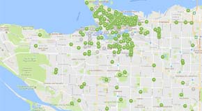 Map Of Cities Of Canada.Smart Cities Challenge City Of Vancouver