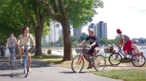 Stanley Park Cycling Plan