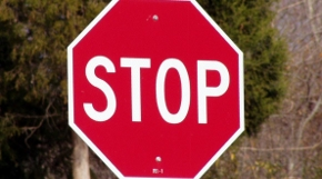 Stop signs are installed in Vancouver based on volume of traffic, and number of accidents.