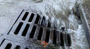 Report storm drain or catch basin problems, including flooding, to the City.