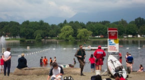 Trout Lake Beach at John Hendry Park in Vancouver