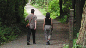 Walking, hiking, and geocaching in Vancouver