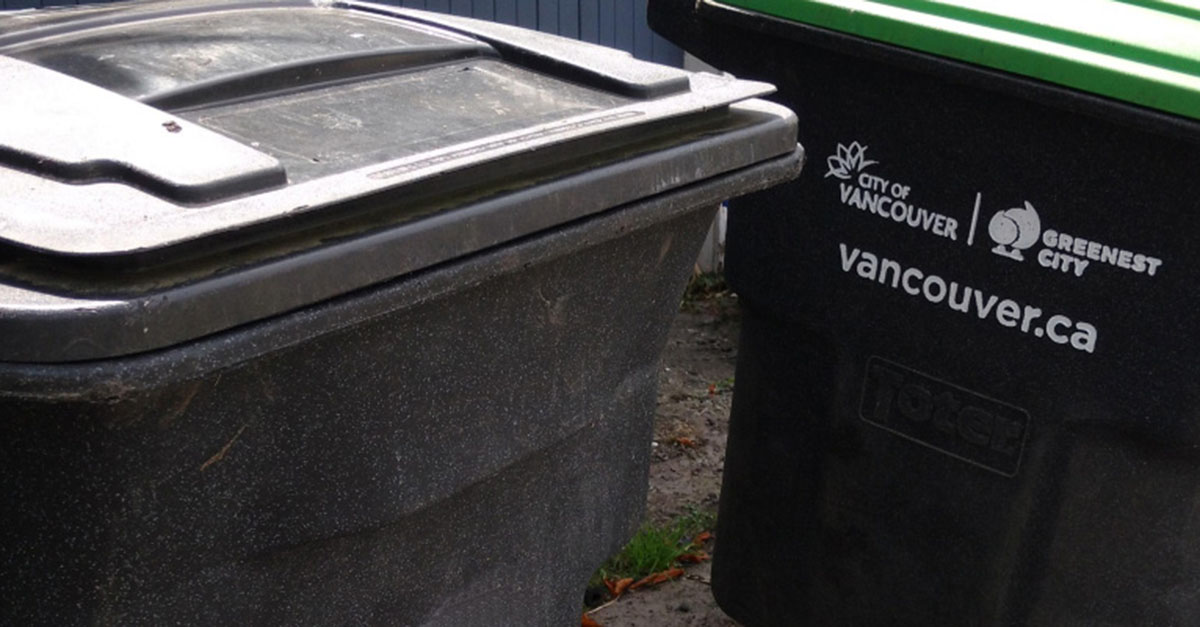 Waste disposal guide for residents | City of Vancouver