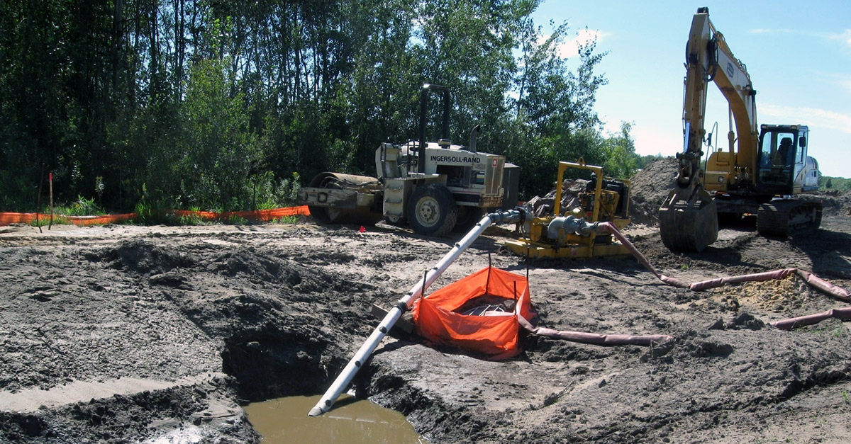 site and land development r a murphy construction wastewater discharge permit for groundwater remediation
