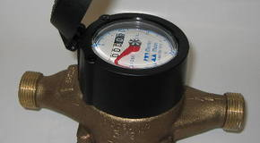 Typical water meter (picture compliments of Wikipedia)