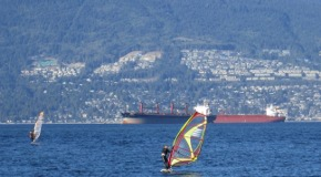 Windsurfing, skimboarding, and standup paddling in Vancouver