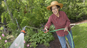 Buy a water conservation kit and save water when you garden.