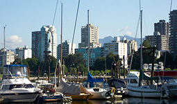 Boats at Burrard Civic Marina