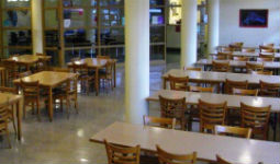 The Evelyne Saller Centre cafeteria