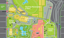 Map of Hastings Park