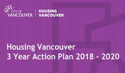 Housing Vancouver 3-year Action Plan 2018-2020