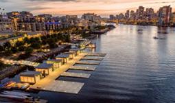 Southeast False Creek Paddling Centre - photo by Concord Pacific