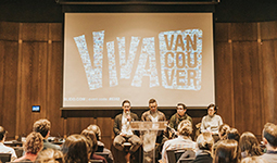 VIVA Vancouver panel discussion at UBC
