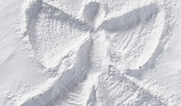 A snow angel