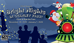 Stanley Park Bright Nights with Burn Fund logo