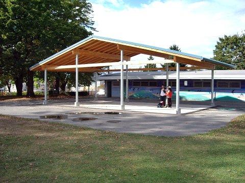 Slocan Park Shelter