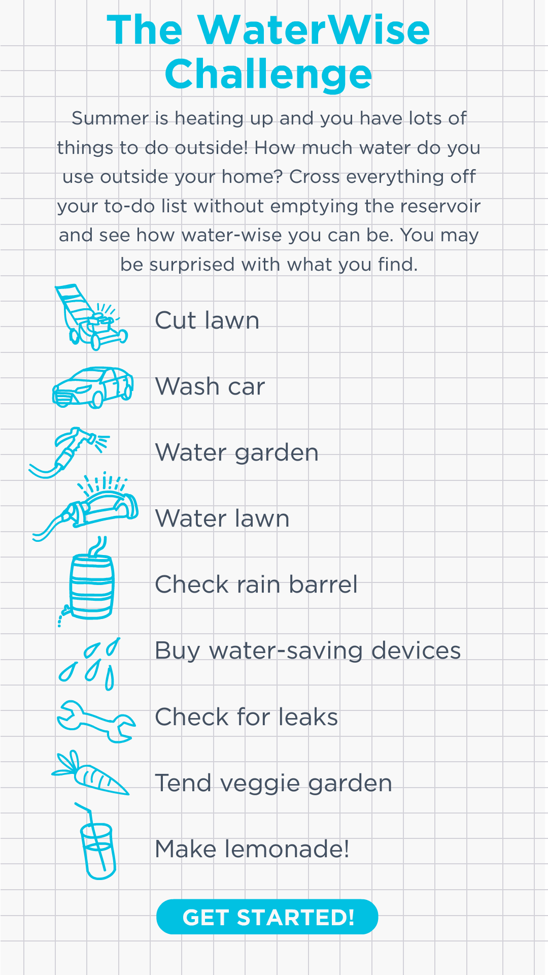 the waterwise challenge